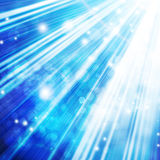 Abstract background. With beams of light Stock Photography