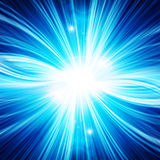 Abstract background. With beams of light Royalty Free Stock Photos
