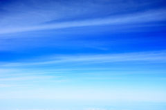 Abstract background of beautiful blue sky with clouds Royalty Free Stock Photos
