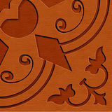 Abstract Background, a beautiful carving texture Stock Photos