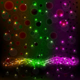 Abstract Background 1. Beautiful abstract background the flowing neon light Royalty Free Stock Photos