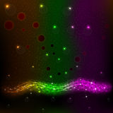 Abstract Background 3. Beautiful abstract background the flowing neon light Royalty Free Stock Image