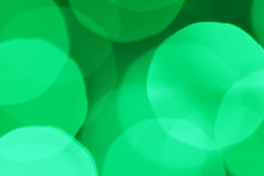 Abstract background of beautiful green bokeh Stock Photos