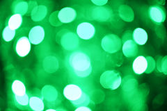 Abstract background of beautiful green bokeh Royalty Free Stock Photography