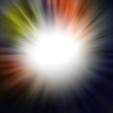 Abstract background. Beautiful rays of light Stock Photo