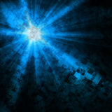 Abstract background, Beautiful rays of light Stock Illustration