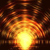 Abstract background, Beautiful rays of light. Vector royalty free illustration