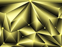 Abstract background. Beautiful abstract background of yellow color with reflections and bumps Vector Illustration