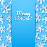 abstract background beautifully design snowflakes winter your ελεύθερη απεικόνιση δικαιώματος