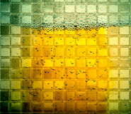 Abstract background beer glass bubbles Royalty Free Stock Images