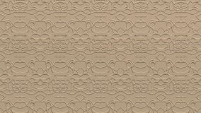 Abstract background in beige tones. Abstract background with ornament from repeated patterns with scribbles in beige tones Royalty Free Stock Photos