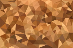 Abstract background beige. Triangles arranged randomly varying tonality vector illustration