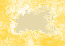 Abstract background in beige and yellow tones. Abstract background in yellow and beige tones in grunge style Royalty Free Stock Photography