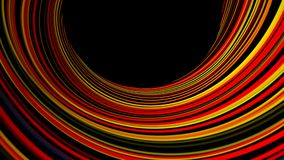 Abstract background with bend lines. 3d rendering Royalty Free Stock Photo
