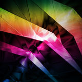 Abstract background with bended lines Stock Photos