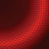 Abstract background with the bent lines. In red colour stock illustration