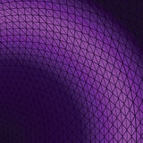 Abstract background with the bent lines. In violet colour royalty free illustration