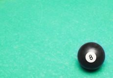 Abstract background with billiards ball Royalty Free Stock Image