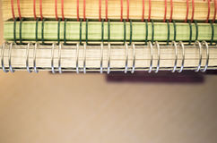 Abstract background - binded blocks of paper Royalty Free Stock Photos