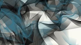 Abstract background in black and blue on white stock footage