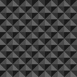 Abstract background with black and gray triangles Royalty Free Stock Photos