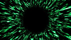 Abstract background with black hole. Digital space illustraton. 3d rendering.  Stock Photos