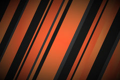 Abstract background with black and orange lines Royalty Free Stock Images