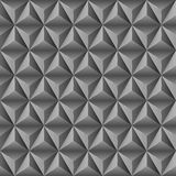 Abstract background with black pyramids. Royalty Free Stock Photo