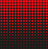 Abstract background black red halftone. Vector Stock Image