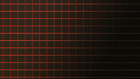 Abstract background of black rusty tiles. With red light between them Stock Photos