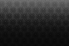 Abstract background with black snowflakes on black background. Backdrop for christmas or greeting cards. Many randomly arranged snoflakes. 3d illustration Vector Illustration