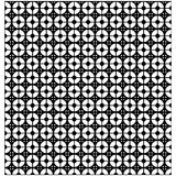 Abstract background with black and white circles and lines. Seam. Less pattern Royalty Free Stock Photos