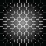 Abstract background in black and white color illustration Stock Photography