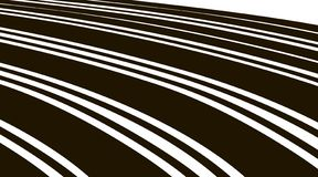 Abstract background. Black and white curve lines.  vector illustration