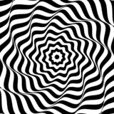 Abstract background of black and white geometric shapes stock illustration