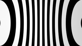 Abstract background with black and white lines. 3d rendering Royalty Free Stock Photos