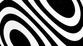 Abstract background with black and white lines. 3d rendering Stock Image