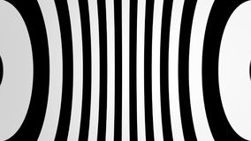 Abstract background with black and white lines. 3d rendering Stock Photo