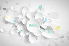 Abstract background with black Stock Photography