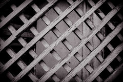 Abstract background. Black and white of a particular wood fence stock photos