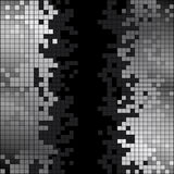 Abstract background with black and white pixels Royalty Free Stock Image