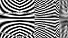 Abstract background with black and white stripes Royalty Free Stock Image