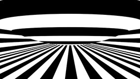 Abstract background with black and white stripes. 3d rendering Stock Photo