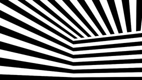 Abstract background with black and white stripes. 3d rendering Stock Photos