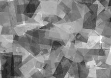 Abstract background in black and white tones. In modern style with square royalty free illustration