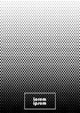 Abstract background 36 black and white. Vertical abstract background with dotted halftone pattern in black and white colors. A gradient texture of dot ornament stock illustration