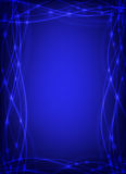 Abstract background in blue. Colors made of diagonal stripes stock illustration