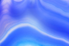 Abstract background, blue agate slice mineral Stock Images