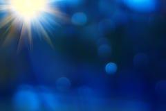 abstract background blue blurred Στοκ φωτογραφία με δικαίωμα ελεύθερης χρήσης