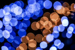 Abstract background of blue and brown circles Royalty Free Stock Photo